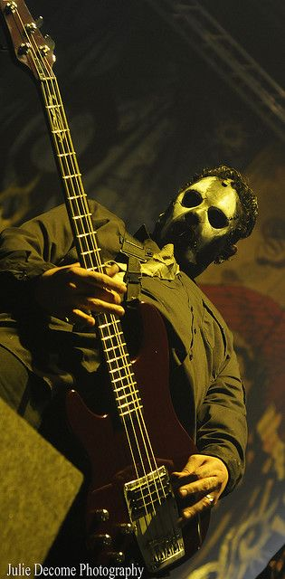 Paul Gray - Not only was he the emotional backbone of Slipknot but also the musical backbone. His riffs might be lost in the mix, but they are still powerful, chunky and angry. RIP bro