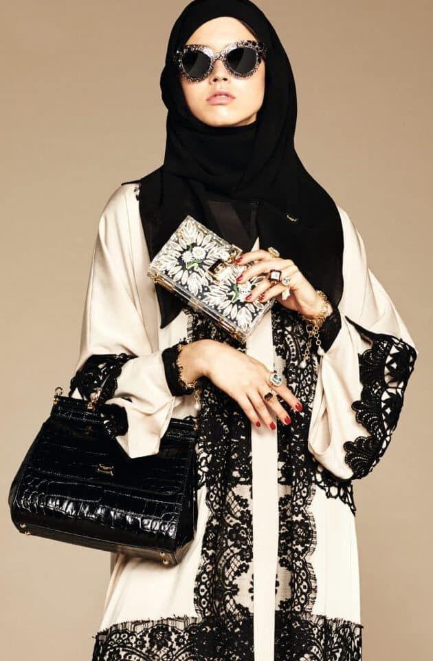 موديلات عبايات خليجية ٢٠١٦ Modern Hijab Fashion Fashion Female Models
