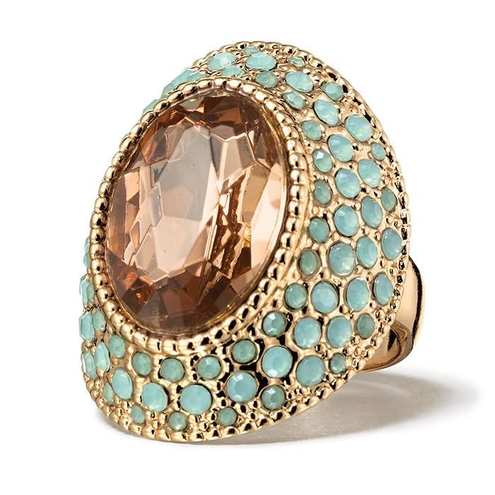 A True Statement Piece The Paradise Cove Cocktail Ring Is