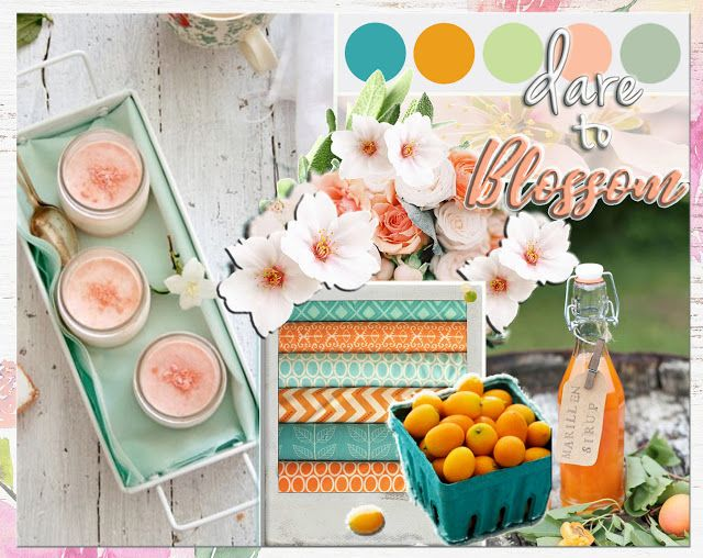 Scraps N Pieces - the Blog: February Challenge - Dare to Blossom