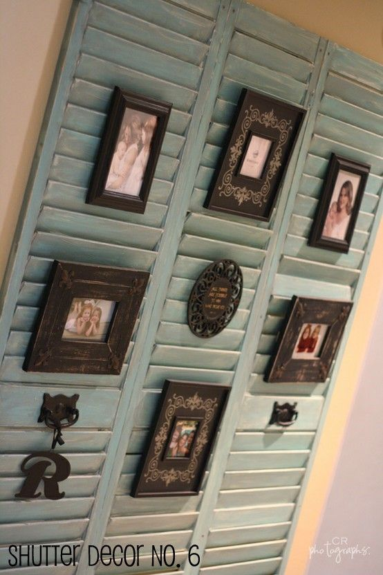 my friday fave pins decor ideascraft - Shutter Designs Ideas