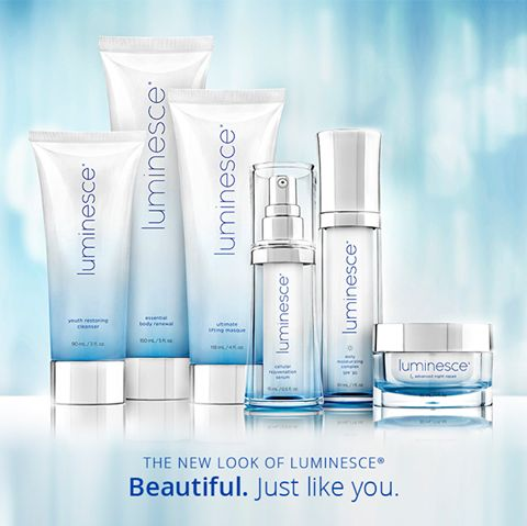 Send a #LUMINESCE Package to your loved ones. #gift #jeunesse #skincare #antiaging