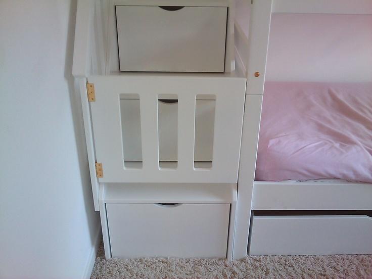 bunk bed gate | K's room | Pinterest