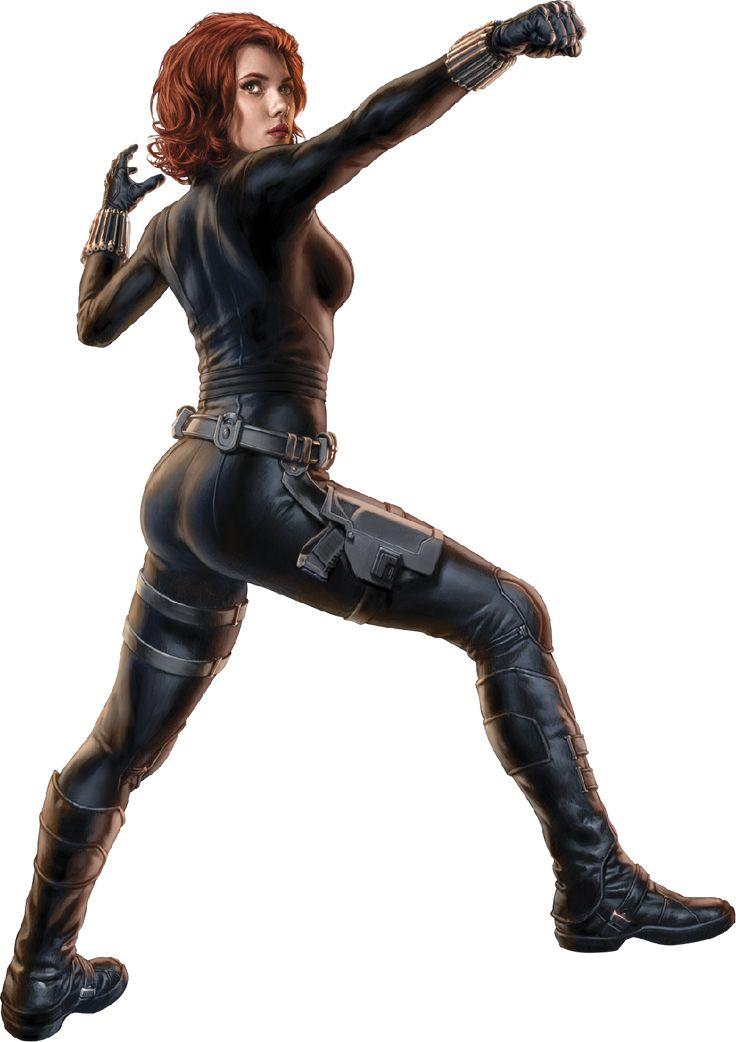 Scarlett Johansson Black Widow Costume