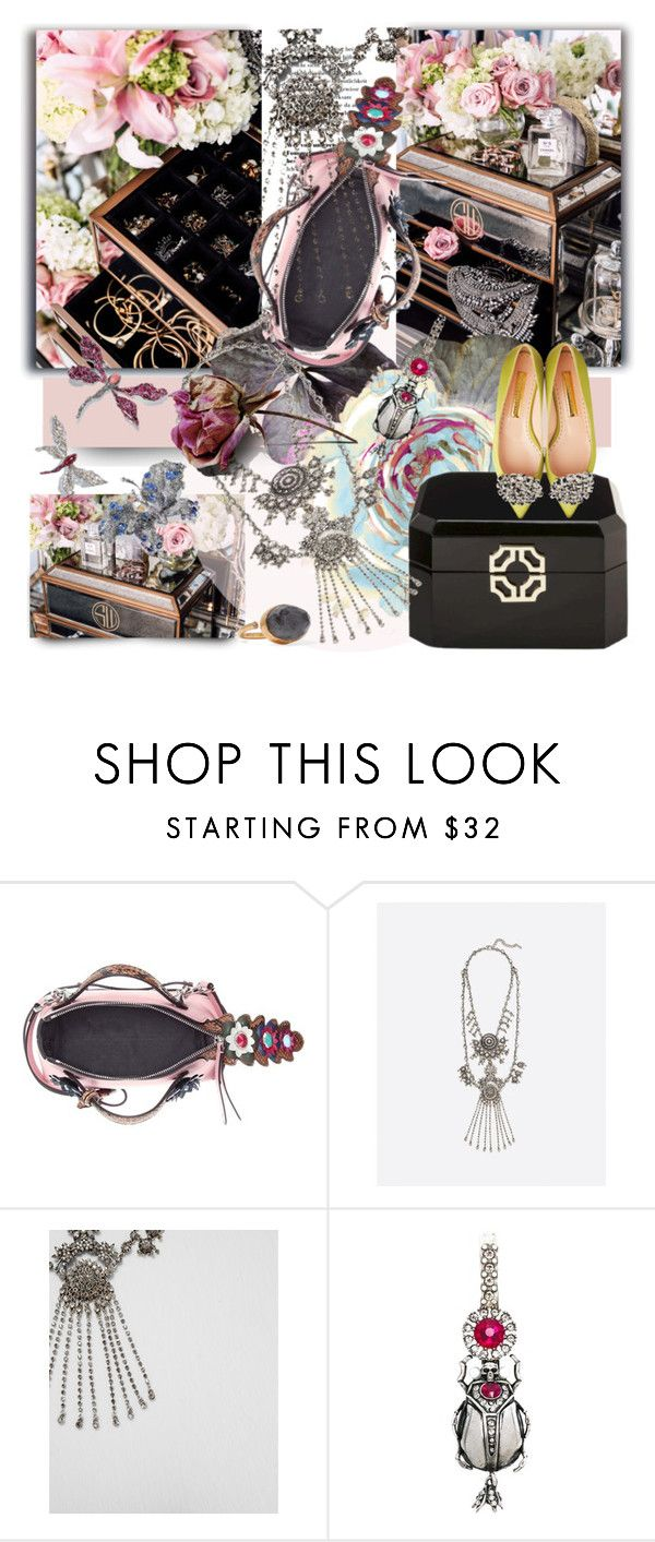 """""""Accessory World - Vanity Flair"""" by jacque-reid ❤ liked on Polyvore featuring Fendi, Alexander McQueen and Katerina Makriyianni"""