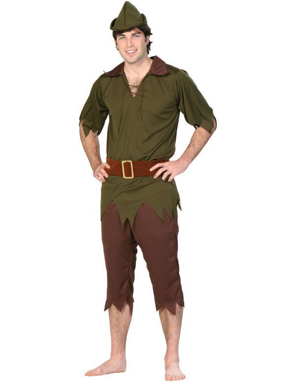diy peter pan costume | Adult Budget Peter Pan Costume | Jokers Masquerade