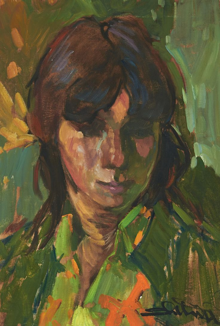 Arthur Shilling (1941-1986) - The Artist's Niece Margaret, 1972
