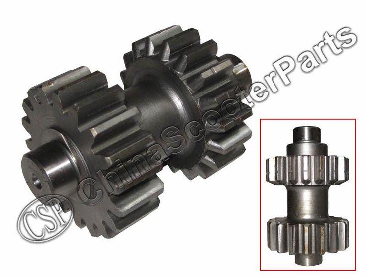 18 19 teeth Double Gear For Kazuma Dingo Falcon Redcat Cougar Gator 250cc ATV Reverse gear box