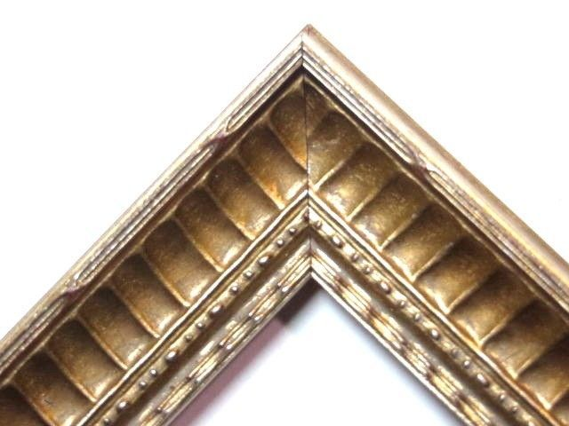 San Marino Gold/Champagne Picture Frame-Solid Wood-Standard Sizes #Homemade