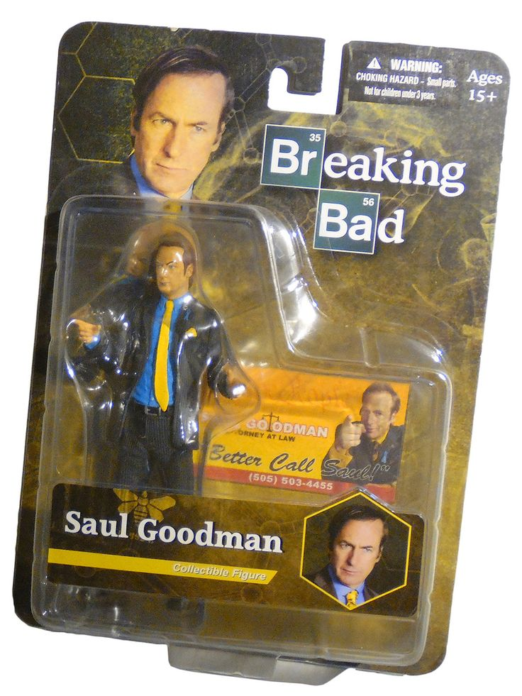 Mezco Figure 'Better Call' Saul Goodman From AMC Breaking Bad New NMIB #BreakingBad #Collectibles