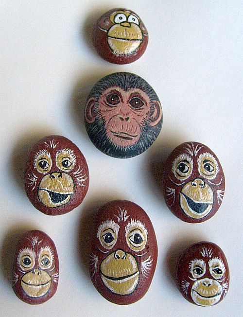 rocks rocks and more rocks   Painting Rock & Stone Animals, Nativity Sets & More: Painted Rock ...