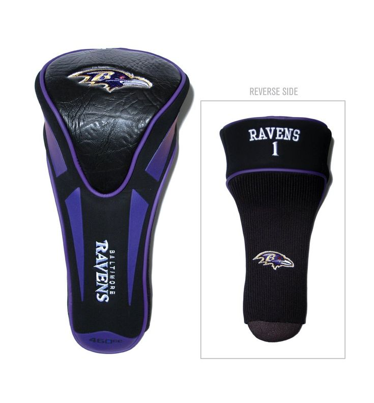 Baltimore Ravens Golf Headcover Single Apex Jumbo Special Order