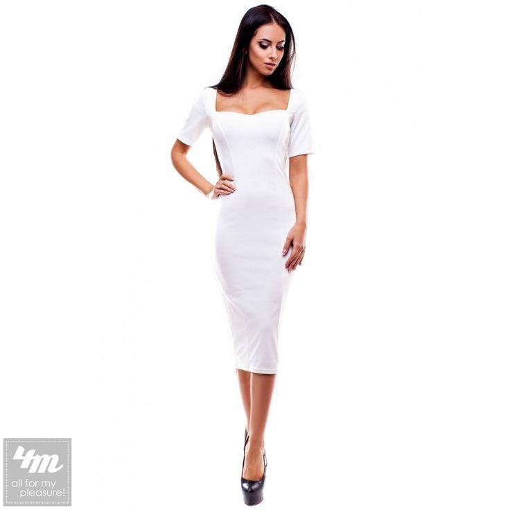 Платье Modus «Ралина» (Белый) http://lnk.al/3HZ0  Основной материал: Французский трикотаж   #лук #нарядныеплатья #платье #платьемечты #топ #новинки #одеждаУкраина #4m #4m.com.ua