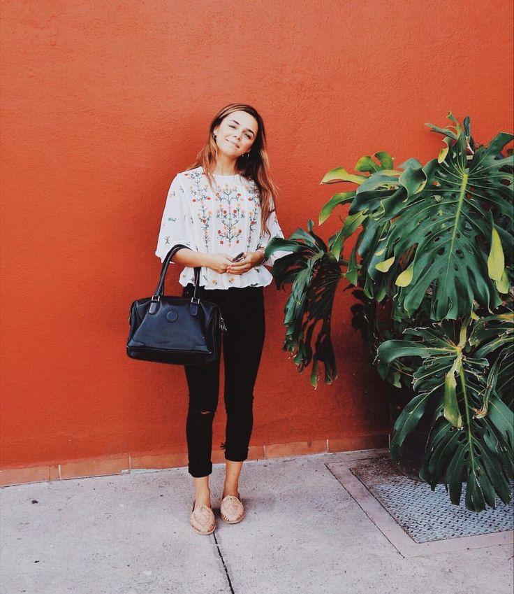 Mariana Bonilla - Outfit chic y fresco