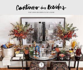 Acabamos de publicar o cantinho de bebidas que fizemos na semana retrasada  Os produtos em prata, copos, taças e vasos em cristal são da loja @luxe4home {www.luxe4home.com.br}. Os arranjos florais, como sempre, da @milplantas por @marciosleme e @dani21mendes. E o delicioso Punch de Hibiscos {que daremos a receita} by @helpbar. Esperamos que gostem: www.vamosreceber.com.br {Os puffs são da @entreposto e o quadro da @fotospot by Cristiano Mascaro} @carolinegabriades  #vamosreceber #luxe4ho...