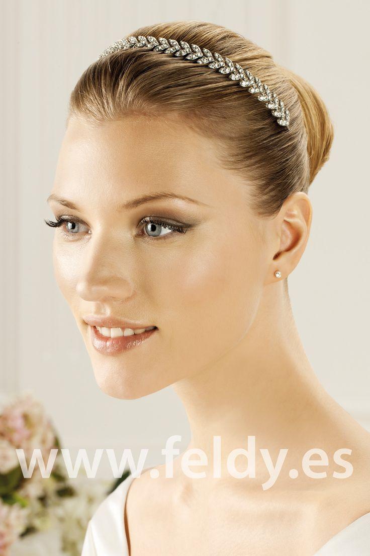 Tiara de novia La Sposa T2-2499 | Feldy S.A.