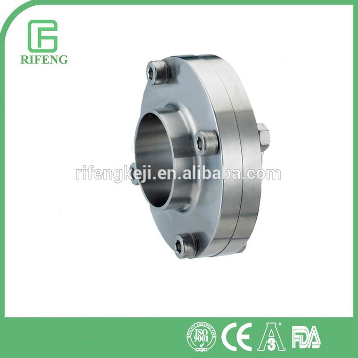 Sanitary Stainless Steel SS304/316L Flange Type Sight Glass