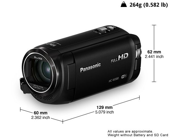 Panasonic HC-W580 is a camcorder that can be used to record and capture every…