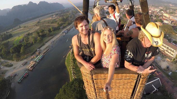 Hot Air Balloon Ride | Vang Vieng | Laos