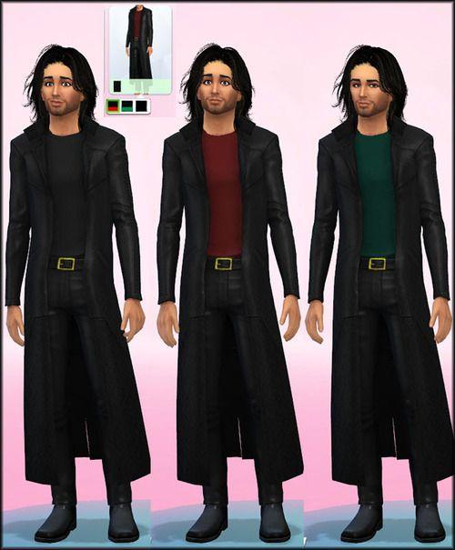 Sims 4 evening dress coats