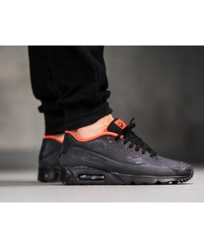 huge selection of 6fe4a 64f29 Nike Air Max 90 Ultra Moire FB Trainers In Black