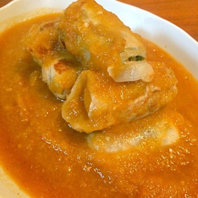 大根と豚肉があったら、簡単ずぼら料理です。 余ったおろしだれは、水を足して翌朝、梅スープにしました。 - 7件のもぐもぐ - 大根の肉巻き 梅おろし煮 by nagu