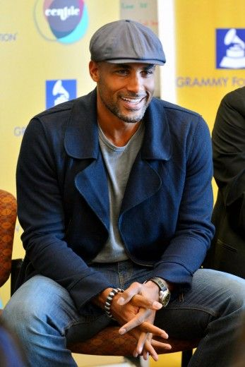 Looking Good Boris Kodjoe speaks during GRAMMY Foundation Event Panel at Andre Agassi College Preparatory Academy in Las Vegas,
