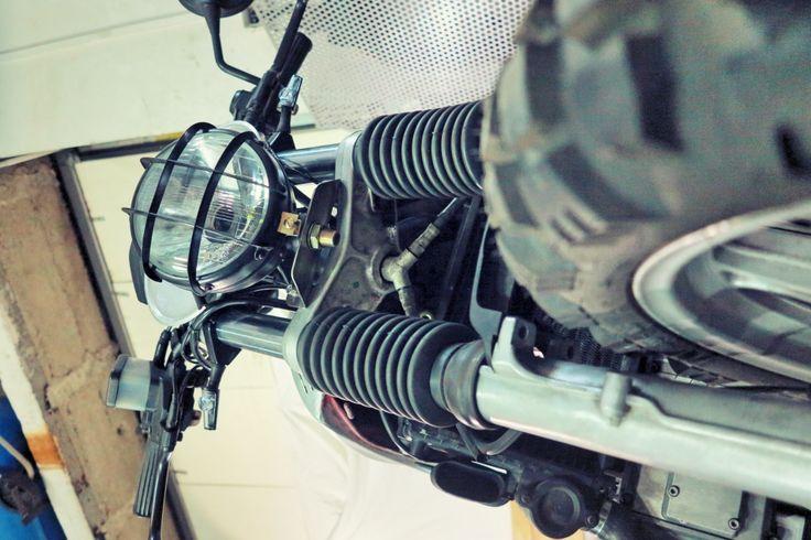 #bmw  #k75 #headlight lamp