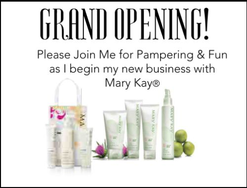 Mary Kay Party Invitations is an amazing ideas you had to choose for invitation design
