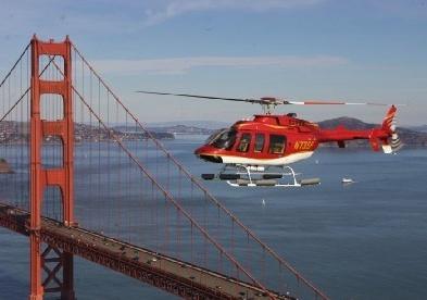 Survolez la baie de San Francisco et le Golden Gate Bridge en Hélicoptère