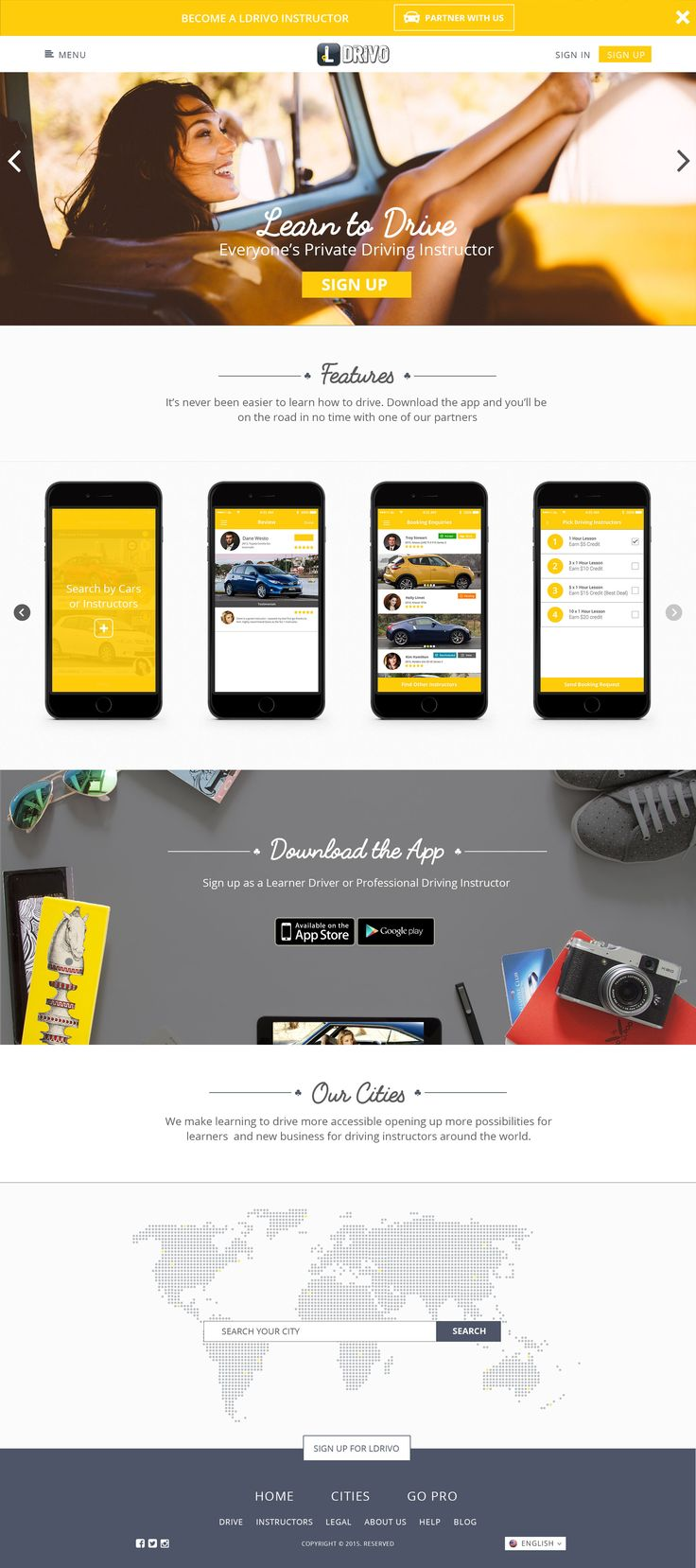 LDrivo Web U0026 Mobile App. #Webdesign #mobile_app Looking For A Web Designer ?