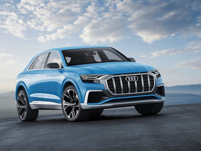 Audi Q8 Concept previews the new face of Ingolstadt's SUVs in Detroit