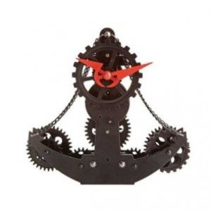Çapa Dişli Özel Masa Saati  Ürün Bilgisi ;  Ürün boyutu :  18 x 19 x 7 cm  Sert metal ve plastik maddeden üretilmiştir. Denizci masa saati Bir Yıl Üretici Firma Garantilidir.