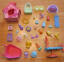 Littlest Pet Shop HUGE Lot ~30+ Pieces of LPS Accessories~(2)