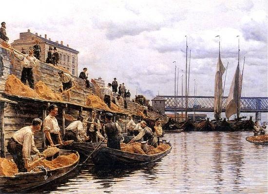 Władysław Podkowiński - The fishermen