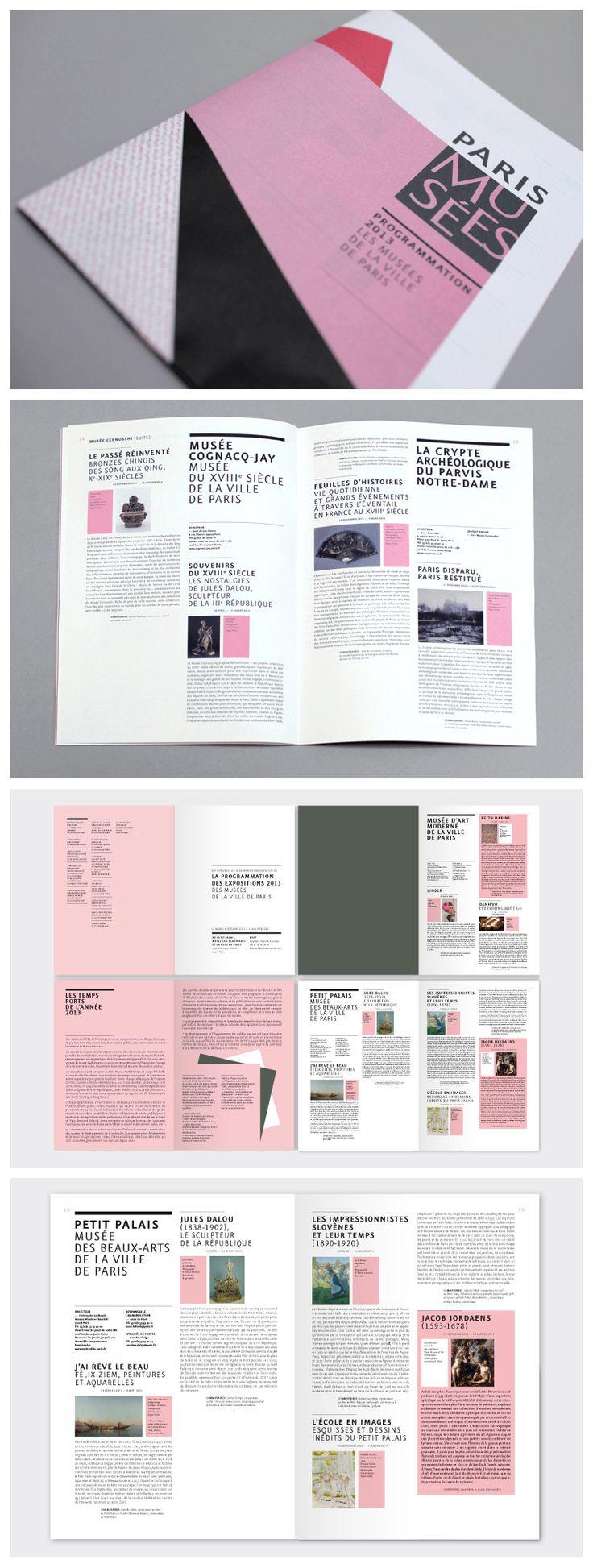 design by Des Signes http://des-signes.fr/PARIS-MUSEES-les-musees-de-la,55