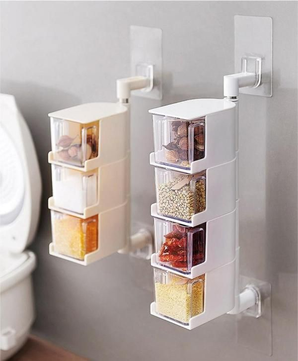 Pin By Crystal Thomas On Home Kitchen Spice Storage Spice