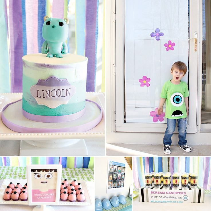 BOO! This Monsters Inc. Themed Birthday Party is going to knock your socks off!  http://hwtm.me/10BK62f