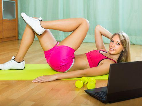 Самые эффективные упражнения для ног, пресса и спины | BestWom