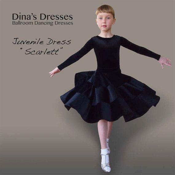 Платье для бальных танцев Scarlett от DinasDresses на Etsy