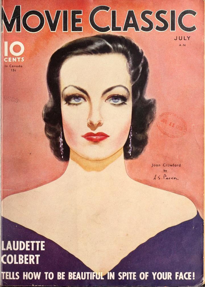 "Joan Crawford ~ ""Movie Classic"" magazine..."