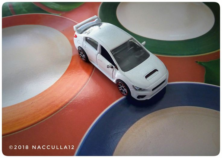 Subaru WRX STI White 2015 diecast photography by@nacculla12