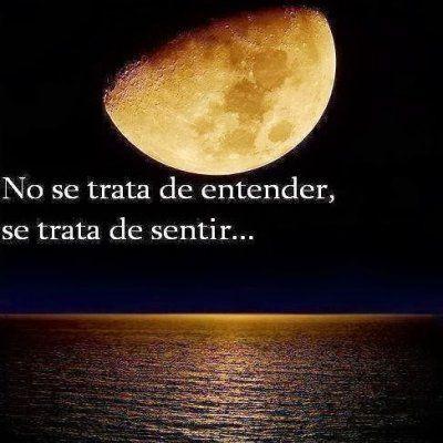 Foto Con Mensaje Romantico Luna Llena - Imágenes para Facebook ...