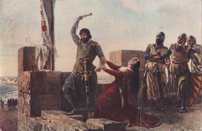 Guzmán el Bueno, de Salvador Martínez Cubells.