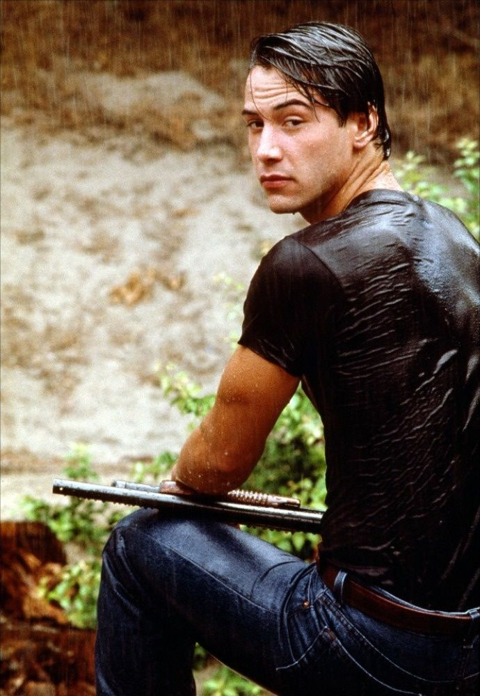"Keanu Reeves as Agent Utah ""Point Break""  1991. A break-out role for Keanu, just before Don John in Much Ado About Nothing."