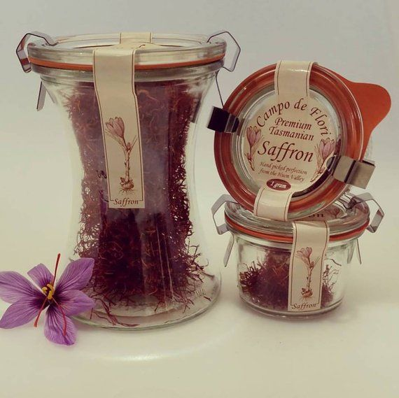 Campo De Flori Saffron Grown Handpicked Perfection From The Huon