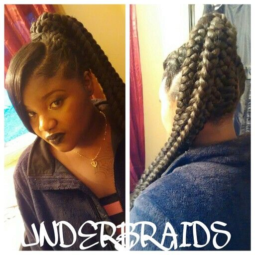 74 best braids images on Pinterest | Braids, Braid hairstyles and ...