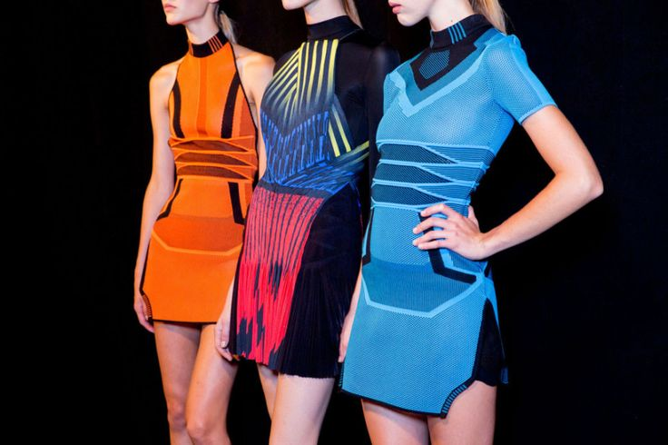 Alexander Wang spring 2015 backstage. Photo by Kevin Tachman.