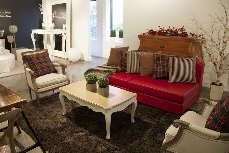 Un salon shabby chic qui acceuillera magistralement vos invités à Noël / A shabby chic lounge that will welcome your guests at Christmas masterfully - Sofa To Go