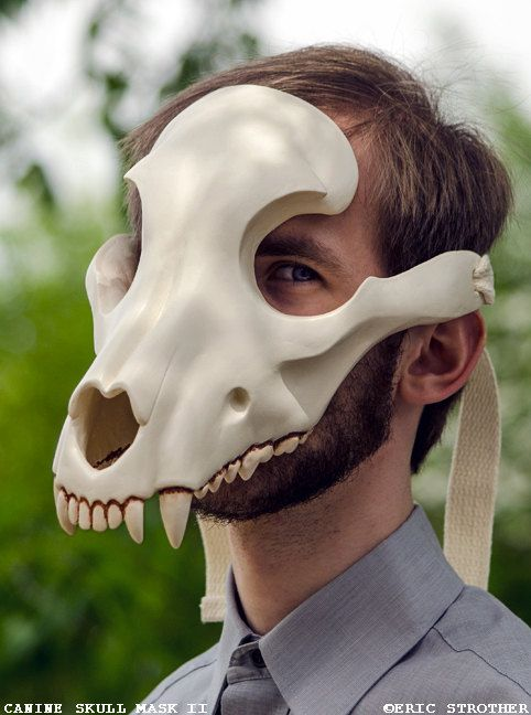 Hey, I found this really awesome Etsy listing at https://www.etsy.com/uk/listing/208532386/canine-skull-mask-ii